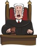Speaking judge Stock Photo