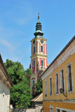 Sentendre, Hungary. Serbian church Stock Images