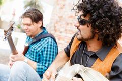 Sentez la musique Photographie stock libre de droits