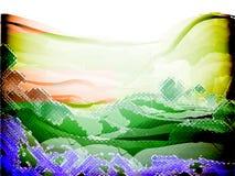 Sentido de la imagen de fondo de cristal del color Imágenes de archivo libres de regalías