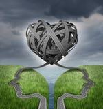 Sentido do relacionamento ilustração royalty free