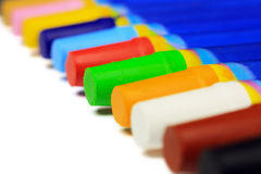 Sentidos coloridos da diagonal dos pastéis Imagem de Stock Royalty Free