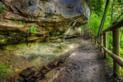 Sentier de randonnée images libres de droits