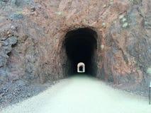 Sentier de randonnée historique de tunnels de chemin de fer chez le Lake Mead, nanovolt images libres de droits
