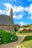 Sentier des douaniers, cote granite rose, Britranny, France Stock Photo