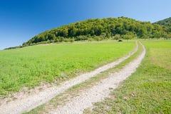 Sentier piéton Images stock