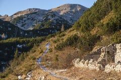 Sentier piéton dans le Komna Photo stock