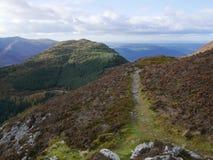 Sentier piéton de montagne Image libre de droits