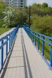 Sentier piéton de parc Photographie stock