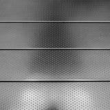 Sentier piéton en acier Photographie stock