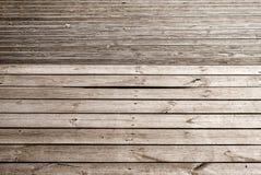 Sentier piéton en bois de planches Image libre de droits