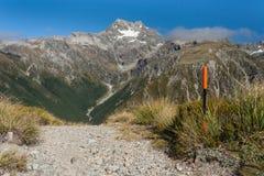 Sentier piéton en parc national du passage d'Arthur Image libre de droits