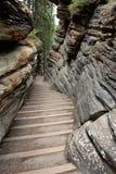 Sentier piéton en pierre Images libres de droits
