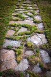 Sentier piéton en pierre Image libre de droits