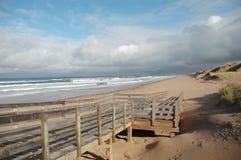 Sentiero costiero Fotografia Stock Libera da Diritti