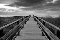 Sentiero costiero alla spiaggia Fotografie Stock Libere da Diritti