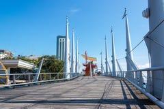 Sentiero costiero di Guayaquil Fotografie Stock Libere da Diritti