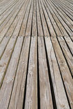 Sentiero costiero di legno Immagini Stock Libere da Diritti