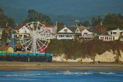 Sentiero costiero di Santa Cruz Fotografie Stock Libere da Diritti