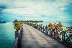 Sentiero costiero di serenità Fotografia Stock Libera da Diritti