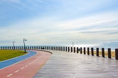 Sentiero costiero di WA dal mare immagini stock libere da diritti