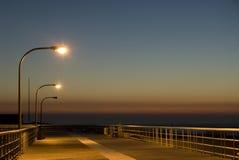 Sentiero costiero drammatico Fotografia Stock Libera da Diritti