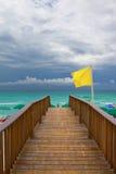 Sentiero costiero in Florida Fotografie Stock Libere da Diritti