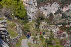 Sentiero degli dei Agerola Włochy Obraz Stock