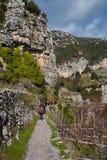 Sentiero degli dei Agerola Włochy Zdjęcie Royalty Free