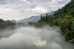 Sentiero-della Veltlin (Lombardei, Italien) Lizenzfreie Stockfotos