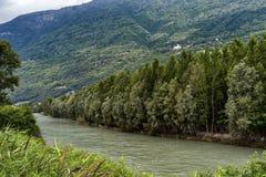 Sentiero-della Veltlin Lombardei, Italien Lizenzfreie Stockfotografie