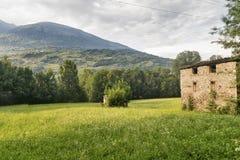 Sentiero-della Veltlin Lombardei, Italien Stockbild