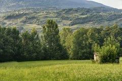 Sentiero-della Veltlin Lombardei, Italien Stockfotos