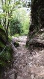 Sentiero di montagna. A day on mountain Royalty Free Stock Image