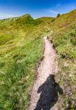 sentiero per pedoni in Austria Fotografia Stock Libera da Diritti