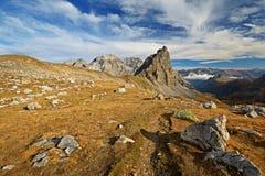 Sentiero per pedoni della montagna Immagine Stock