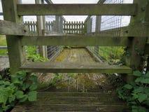 Sentiero per pedoni di didascalia di stile Fotografia Stock Libera da Diritti