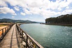 Sentiero per pedoni di Rodiles Fotografie Stock