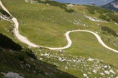 Sentiero per pedoni intorno al Mt. Alpspitze Immagine Stock Libera da Diritti