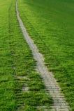 Sentiero per pedoni lungo Fotografie Stock