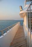 Sentiero per pedoni su una barca Fotografia Stock Libera da Diritti