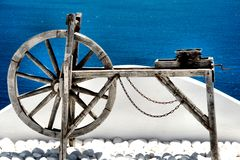 Sentiment de Santorini Images stock