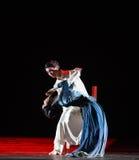 """Sentimental se ata a un  de Lanfang†del drama""""Mei de la persona-danza Fotografía de archivo"""