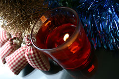 Sentimento do Natal fotografia de stock