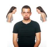 Sentimento do noivo perturbado Imagens de Stock Royalty Free