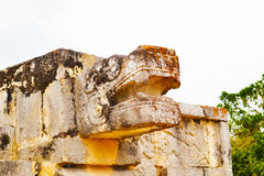 Sentinel, Chichen Itza, Mexican artifacts Royalty Free Stock Photos