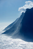 Sentinel Cliff Face Cape Town Stock Photo