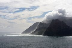 Sentinel Cliffs  Cape Town Royalty Free Stock Photos