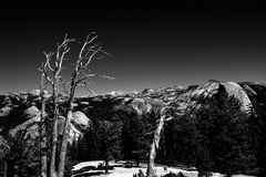 Sentinel Dome, Yosemite Royalty Free Stock Photography