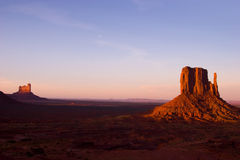 Sentinel Mesa. Monument Valley in the Navajo Tribal Park Royalty Free Stock Photo